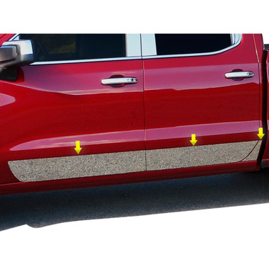 Luxury FX | Side Molding and Rocker Panels | 19-20 Chevrolet Silverado 1500 | LUXFX3908