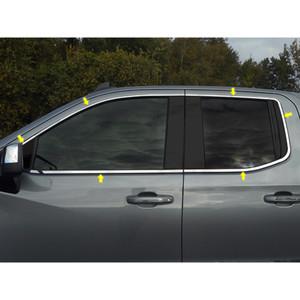 Luxury FX   Window Trim   19-20 Chevrolet Silverado 1500   LUXFX3911
