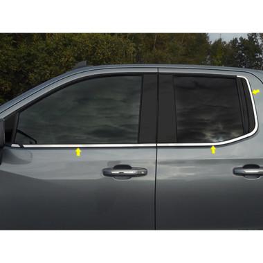 Luxury FX | Window Trim | 19-20 Chevrolet Silverado 1500 | LUXFX3912
