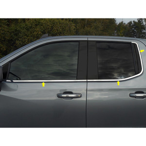 Luxury FX   Window Trim   19-20 Chevrolet Silverado 1500   LUXFX3912