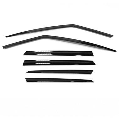 Premium FX   Window Vents and Visors   16-19 Volvo XC Series   PFXV0192