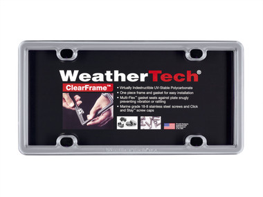 Weathertech   License Plate Covers and Frames   Universal   WTECH-8ALPSS1