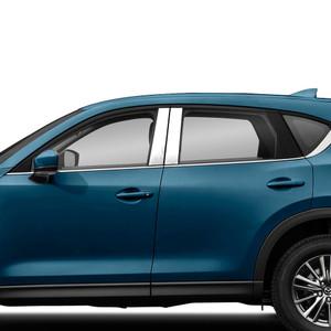 Brite Chrome | Pillar Post Covers and Trim | 17-20 Mazda CX-5 | BCIP344