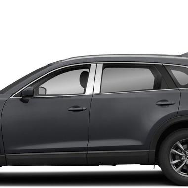 Brite Chrome | Pillar Post Covers and Trim | 16-20 Mazda CX-9 | BCIP346