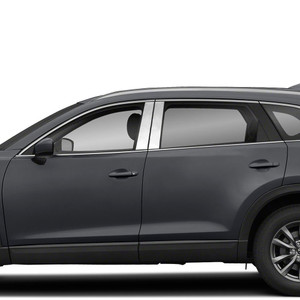 Brite Chrome | Pillar Post Covers and Trim | 16-20 Mazda CX-9 | BCIP346