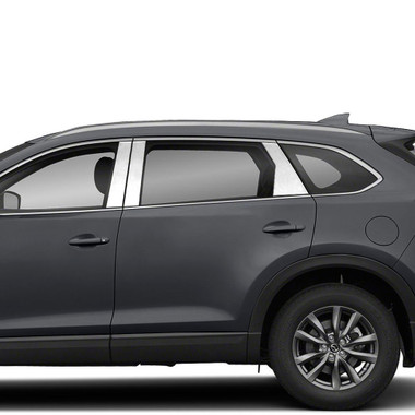 Brite Chrome | Pillar Post Covers and Trim | 16-20 Mazda CX-9 | BCIP347