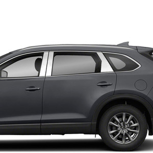 Brite Chrome | Pillar Post Covers and Trim | 16-20 Mazda CX-9 | BCIP347