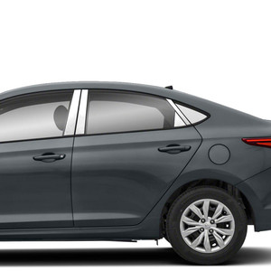 Diamond Grade | Pillar Post Covers and Trim | 18-20 Hyundai Accent | SRF1496