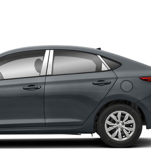 Diamond Grade | Pillar Post Covers and Trim | 18-20 Hyundai Accent | SRF1497