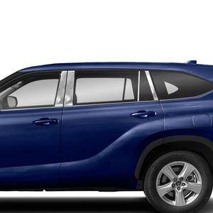 Diamond Grade   Pillar Post Covers and Trim   20 Toyota Highlander   SRF1502