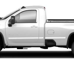 Diamond Grade | Side Molding and Rocker Panels | 20 Chevrolet Silverado HD | SRF1504