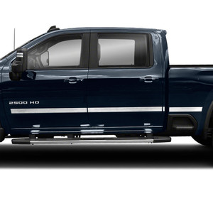 Diamond Grade | Side Molding and Rocker Panels | 20 Chevrolet Silverado HD | SRF1506