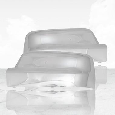 Auto Reflections   Mirror Covers   19-20 Dodge Ram 1500   ARFM281