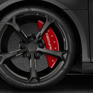 Caliper Covers Set of 4 for 2020 GMC Sierra 2500HD - Denali Engraved by MGP