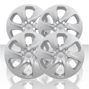 """Set of 4 17"""" 6 Spoke Wheel Covers for 2019-2020 Toyota RAV4 - Silver"""