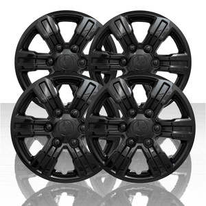 "Set of 4 16"" 6 Spoke Wheel Covers for 2019 Ford Ranger XL - Gloss Black"
