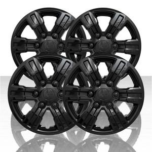 """Set of 4 16"""" 6 Spoke Wheel Covers for 2019 Ford Ranger XL - Gloss Black"""
