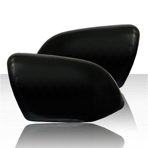 Set of 2 Mirror Covers for 2020 Ford Explorer XLT - Gloss Black