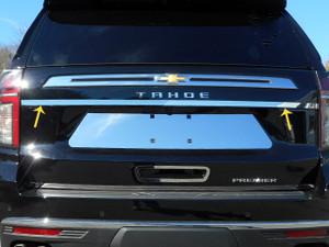 Luxury FX   Rear Accent Trim   21 Chevrolet Tahoe   LUXFX3993