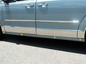 Luxury FX | Side Molding and Rocker Panels | 08-20 Dodge Grand Caravan | LUXFX3997