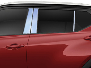 Luxury FX | Pillar Post Covers and Trim | 18-20 Nissan Kicks | LUXFX4070