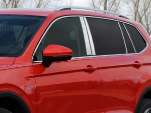 Luxury FX | Pillar Post Covers and Trim | 18-20 Volkswagen Tiguan | LUXFX4103
