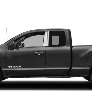 Diamond Grade | Pillar Post Covers and Trim | 16-21 Nissan Titan | SRF1562