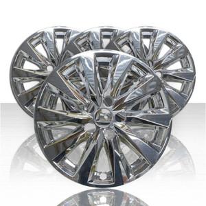 "Set of 4 17"" Wheel Skins for 2018-2021 Toyota Camry - Chrome"