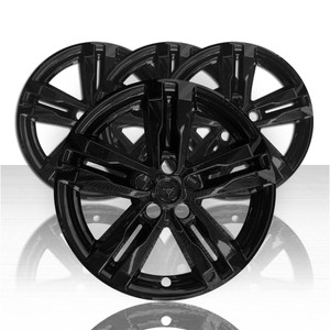 "Set of 4 18"" Wheel Skins for 2020-2021 Ford Explorer - Gloss Black"