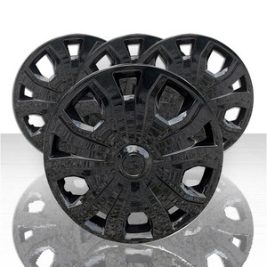 """Set of 4 16"""" Wheel Covers for 2019-2021 Ford Transit - Gloss Black"""