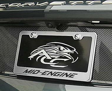 American Car Craft   License Plate Covers and Frames   20-21 Chevrolet Corvette   ACC4944