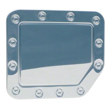 Auto Reflections | Gas Door Covers | 04-14 Nissan Titan | DC06--nissan-titan-chrome-plated-gas-door-cap-cover