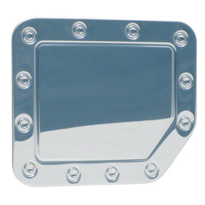 Auto Reflections | Gas Door Covers | 04-14 Nissan Titan | DC06--nissan-titan-chrome-plated-gas-door-cap-cover