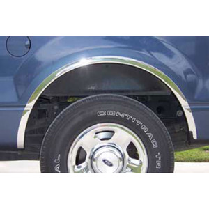 Auto Reflections | Fender Trim | 04-12 Ford F-150 | 11101-Chrome-Fender-Trim