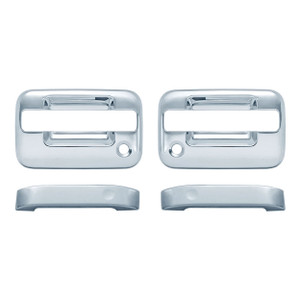 Auto Reflections | Door Handle Covers and Trim | 04-14 Ford F-150 | 11105-f-150-Chrome-Door-Handle-Covers