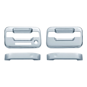Auto Reflections | Door Handle Covers and Trim | 04 Ford F-150 | 11105K-f-150-Chrome-Door-Handle-Covers