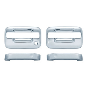 Auto Reflections | Door Handle Covers and Trim | 04-14 Ford F-150 | 11105NK-f-150-Chrome-Door-Handle-Covers