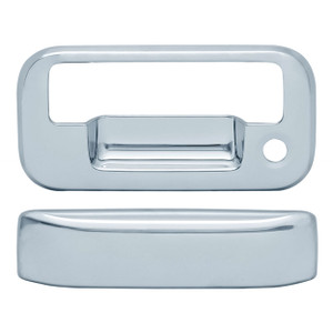 Auto Reflections | Tailgate Handle Covers and Trim | 04-14 Ford F-150 | 11107-F-150-Chrome-Tail-Gate-Cover