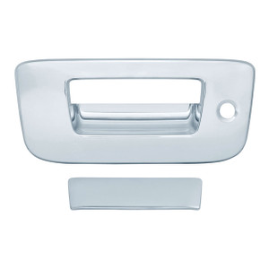 Auto Reflections   Tailgate Handle Covers and Trim   07-13 GMC Sierra 1500   12207K-Sierra-Chrome-Tail-Gate-Cover