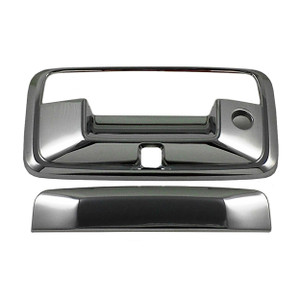 Auto Reflections | Tailgate Handle Covers and Trim | 14-15 GMC Sierra 1500 | 13317-Sierra