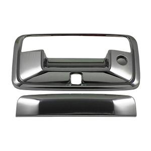 Auto Reflections   Tailgate Handle Covers and Trim   14-15 Chevrolet Silverado 1500   13317-Silverado