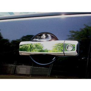 Auto Reflections | Door Handle Covers and Trim | 04 Nissan Armada | 17105K-armada-Chrome-Door-Handle-Covers