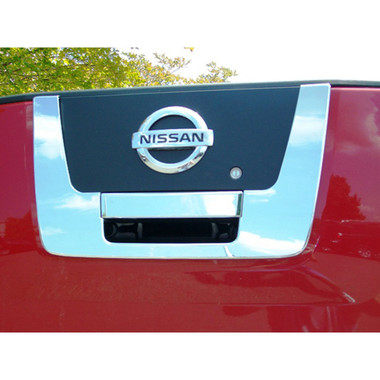 Auto Reflections | Tailgate Handle Covers and Trim | 04-12 Nissan Titan | 17107-Titan-Chrome-Tail-Gate-Cover