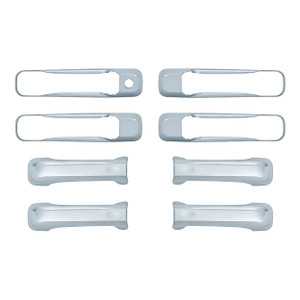 Auto Reflections   Door Handle Covers and Trim   05-11 Jeep Commander   18106K-commander-Chrome-Door-Handle-Covers