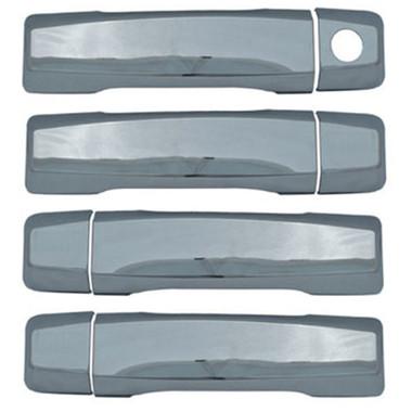 Auto Reflections | Door Handle Covers and Trim | 04-14 Nissan Titan | 68127B-nissan-titan-chrome-door-handles-covers