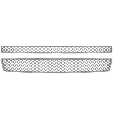 Auto Reflections   Grille Overlays and Inserts   07-14 Chevrolet Tahoe   GI-33X-ltz-style-chrome-grille