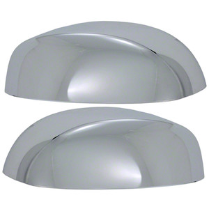 Auto Reflections | Mirror Covers | 07-13 GMC Sierra 1500 | 67314T-sierra-top-mirrors
