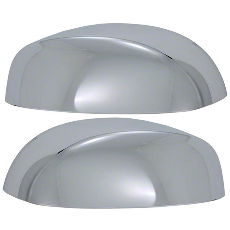 Chrome Upper Mirror Cover Set for 2007-2014 GMC Yukon XL