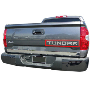 Auto Reflections | Rear Accent Trim | 14-15 Toyota Tundra | CRA0035