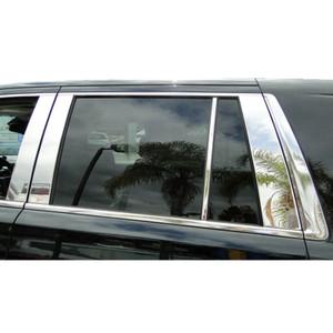 Auto Reflections | Pillar Post Covers and Trim | 15 GMC Yukon | CPP0803